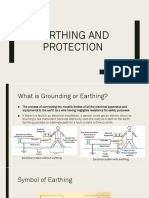 Earthing and Protection