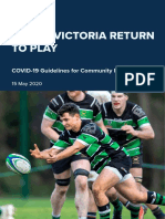 Return to Play Rugby Victoria