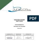 PROCEDIMIENTO - PINTADO DE OFICINAS
