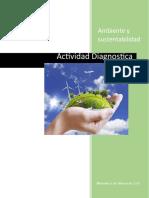 Evidencia Diagnostica ambiente y sustentabilidad