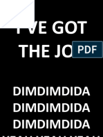 I'VE GOT THE JOY, CC