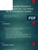 Caso applied research technologies inc - Pérez