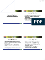 Legal and Regulatory Environment of Business_handouts