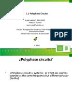 Clase 1 - Circuitos polifásicos