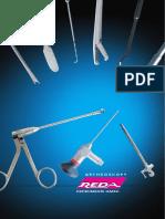REDA arthroscopy catalogue