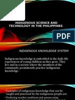 Indigenous Knowledge