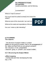 Topic 4 Making Presentations