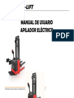 MANUAL USUARIO APILADOR ELECTRICO hu-liftTB
