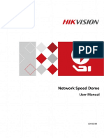 User Manual of Network Speed Dome