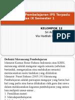 PPT MERANCANG PEMBELAJARAN IPS TERPADU KLS IX.pptx