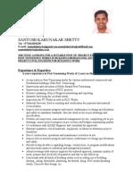 1285661782 355 FT0 Santosh Shetty Resume