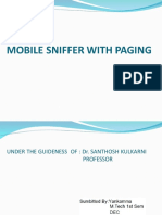 Mobile Sniffer Ppt