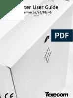 Premier 48, 88 & 168 Master User Guide