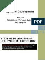 Systems Development - Fall 2006
