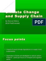 Climate Change and Supply Chain
