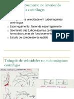Aula 7 - Analise do escoamento em turbomaquinas centrifugas