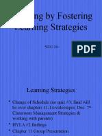 EDU chapter 11 M Learning Strategies