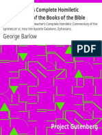 The Preacher's Complete Homiletic Commentary of the Books of the Bible