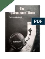 FAKHRUDDIN KAIFY'S  The 'Unpublished' Book