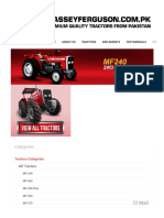 Massey Ferguson - MF 240 50HP - Xtra Series and Premium Quality