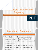 Hematologic Disorders and Pregnancy