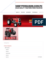 Massey Ferguson - MF 375 75HP - Xtra Series and Premium Quality