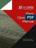 A-1 Fence - Plant Operation.pdf