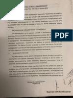 Contrato firmado por Juan Guaidó con Silvercop en Ingles