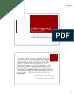 Institutions Rule (Rodrik et al)