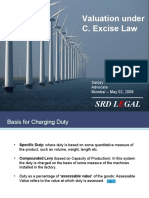 C. Excise Valuation Law