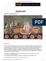 The Aims of Indian Art by Ananda K. Coomaraswamy