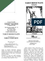 Instruções Rider Waite-convertido