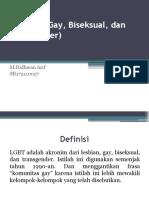 PPT LGBT - Keperawatann Komunitas [Arif].pptx