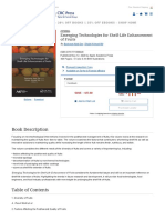 Emerging Technologies for Shelf-Life Enhancement of Fruits - 1st Editi