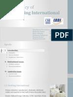Organization Behavior - Case Study Presentation