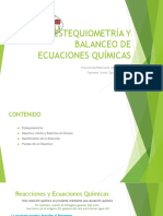 Estequiometría y Relaciones Estequiometricas (1)