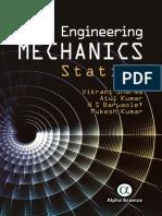 Engineering Mechanics Statics by Sharma, Vikrant