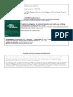 Complete investigation Austenitic stainless steel multi-pass welding-A.P. Kyriakongonas e Dimitrios I. Pantelis et al-2011