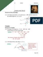 SOLUTION UNIT 6 (PART-1) GEOMETRY (G-10)