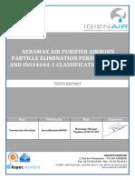 IGIENAIR - Aeramax AM III Etude de l'élimination desparticules de 0,3 a_ 10 m  avec filtres 100� HEPA.pdf