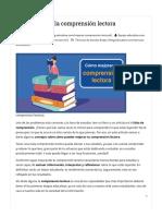 ✓ Cómo mejorar la comprensión lectora_ consejos, técnicas y ejercicios
