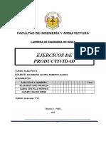 PRATICA DE PRODUCTIVIDAD