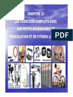 Chapitre 23 Les Exercices Complets Avec Des Petits Accessoires de Musculation Et de Fitness