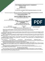 Levis Annual Report 2019