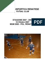 Foto 2007.16.10 Mgm Renatese x Sito