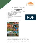 TRABAJO DE RELIGUION