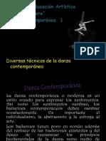 TECNICAS DE DANZA CONTEMPORANEA