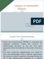WCM strategy