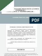 RESORBTIA RADICULARA  LA DP - platf