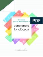 Libro Conciencia fonológica
